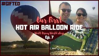 Disney World Vlogs 2019 | Our First Hot Air Balloon Ride in Orlando | KrispySmore
