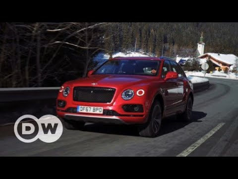 Elegant: Bentley Bentayga V8 Benziner | DW Deutsch