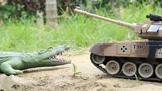 Video Crocodile vs Tank |   A lot of Cars Toys for Kids Video for Children MP3, 3GP, MP4, WEBM, AVI, FLV Agustus 2018