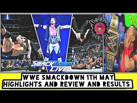 WWE Smackdown 1th May Highlights And Review And Results/World Wrestling Tamil