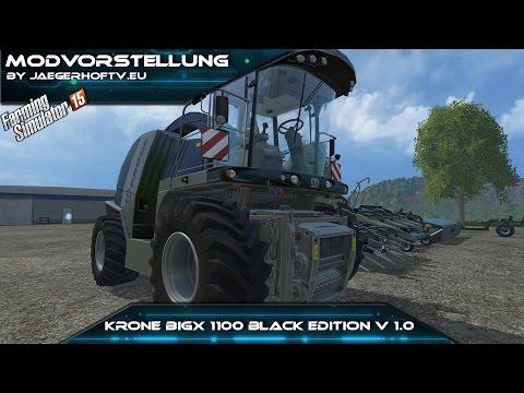 Krone BigX 1100 Black Edition v1.1