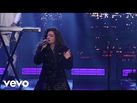 Lorde – Ribs (Live On Letterman)