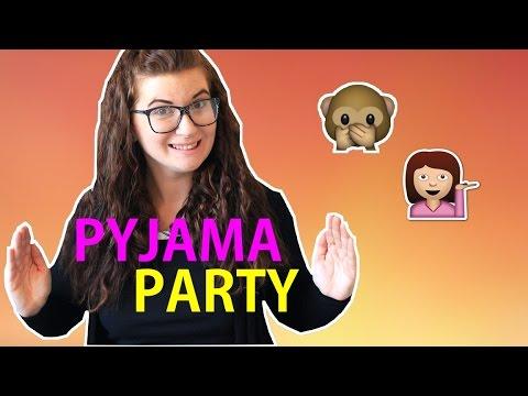 Pyjama party - Chômage, blog et partage