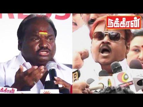 Vijayakanth-Expels-Korada-Chandrakumar-DMDk-Internal-Party-Fights