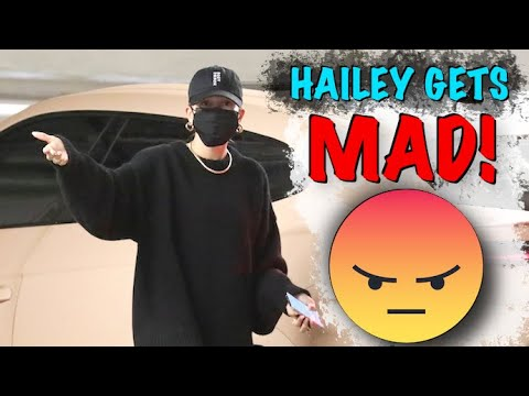 Hailey Baldwin SNAPS At The Paps In Beverly Hills