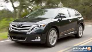 2013 Toyota Venza Test Drive&Crossover Video Review