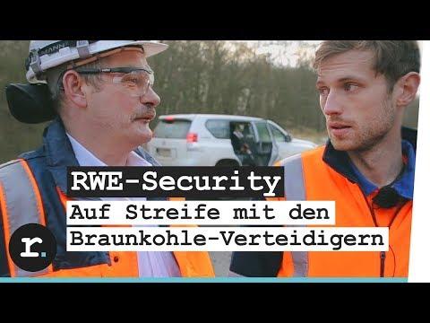 Braunkohle verteidigen - Ein Tag mit der RWE-Security im Hambacher Forst