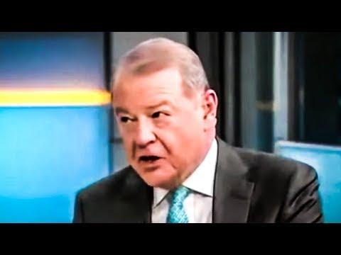Stuart Varney Chokes On Monocle During Fox and Friends' Bernie Bashing (видео)