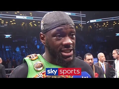 'IT'S GOING TO HAPPEN!' - Deontay Wilder Promises Fight With Anthony Joshua Will Happen