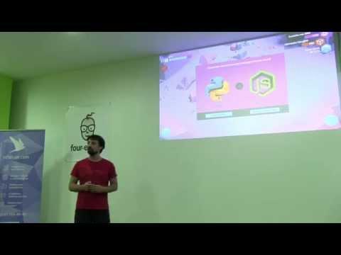 Александр Лябах - Empire of Code - первая игра для программистов.