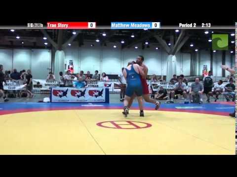 Men 96 KG / 211.5 lbs – Trae Story vs. Matthew Meadows