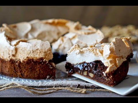 torta cioccolato e meringa - ricetta