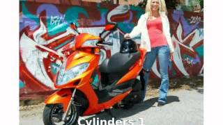 7. 2013 KYMCO Compagno 50  motorbike Features Engine Details Top Speed superbike Specs