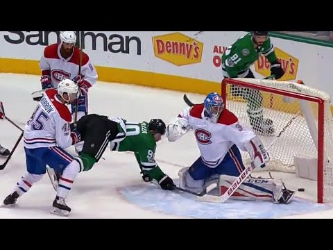 Video: Stars' shore snipes and Spezza scores while falling for two quick goals vs Canadiens