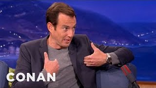 Will Arnett's Bros Night Out With Conan & Andy - CONAN on TBS