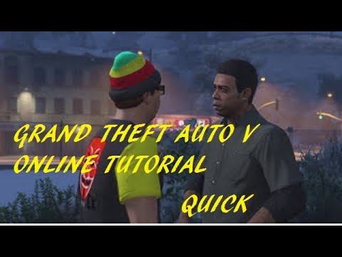 How To Complete The Gta V Online Tutorial Quick