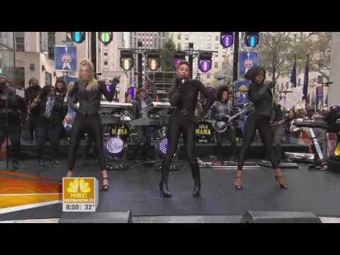 Beyonce - Single Ladies ft Heather Morris (Live Rockefeller Plaza) HD