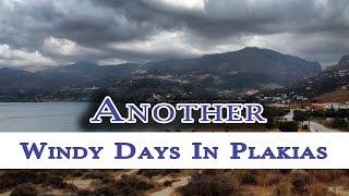 Kolejne wietrzne dni w Plakias