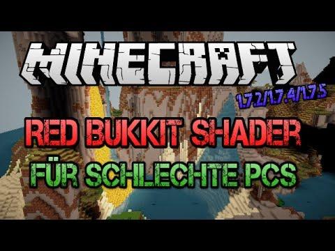 RedBukkit Shader für langsame PC´s 1.7.2/1.7.4/1.7.5 (видео)