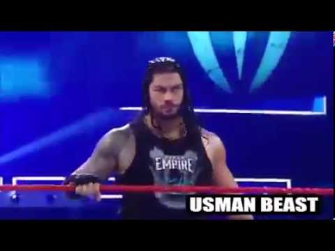 Seth Rollins Saves Roman Reigns From Kevin Owens & Chris Jericho 2016 HD   WWE