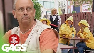 Rainy Day Pranks - Best of Just For Laughs Gags, Just for laughs, Just for laughs gags, Just for laughs 2015