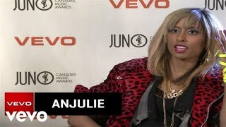 Anjulie - VEVO News Interview