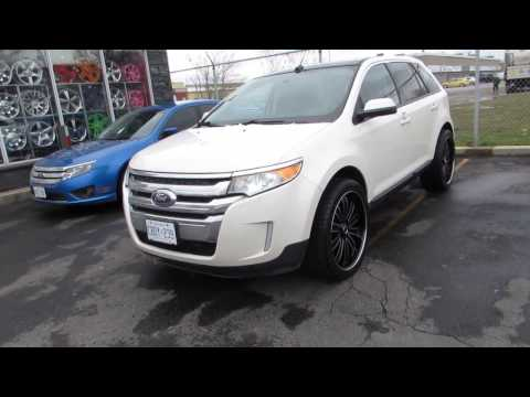 2013 FORD EDGE RIDING ON 22 INCH CUSTOM RIMS &TIRES