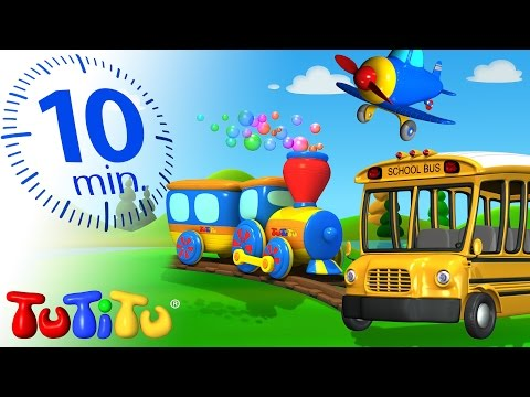 TuTiTu Specials | Transportation Toys for Children
