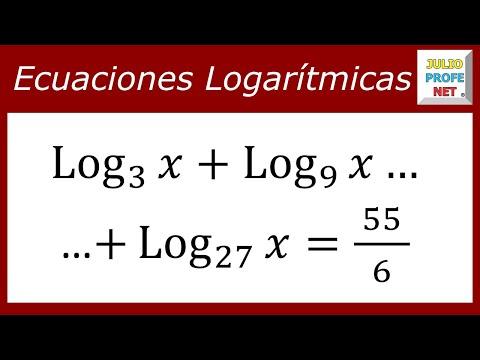Ecuación con logaritmos de diferentes Basen