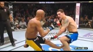 Man Breaks His Own Leg On A Kick In UFC Fight
