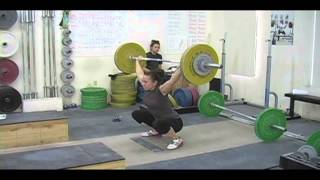 Weightlifting training footage of Catalyst weightlifters. Tamara clean and jerk, Alyssa clean, Brian clean and jerk, Alyssa clean, Jessica clean and jerk, Donovan clean and jerk, Tate back squat, Alyssa snatch, Audra snatch, Blake snatch, Jessica snatch, Patrick clean and jerk. - Weight lifting, Olympic, weightlifting, strength, conditioning, fitness, exercise,