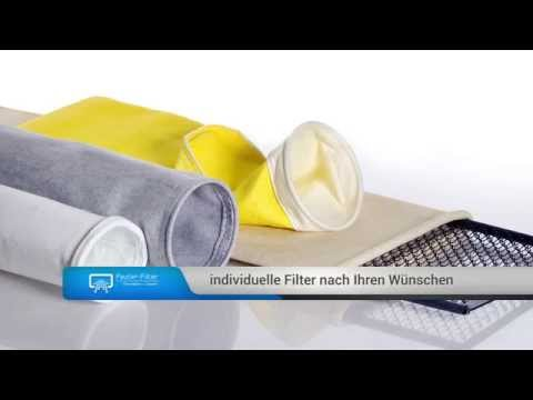 FAUTER FILTER - Filterschläuche/Filtertaschen für Zementwerke, Kalkwerke, Stahlwerke, Mühlen