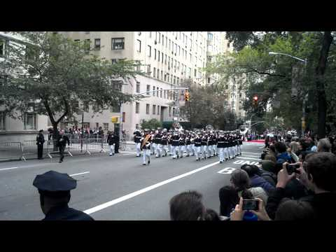 2nd MAW Band, NYC Columbus Day Parade 2012
