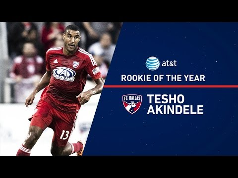 Video: Tesho Akindele 2014 AT&T Rookie of the Year