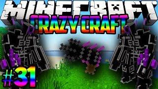 "Minecraft Crazy Craft ""ROBOTS AND FREAKIN RAY GUNS!""Modded Survival #31 w/Lachlan&Preston"