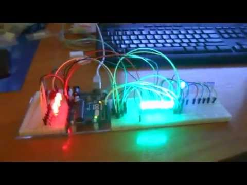Using a 74HC595 to connect an Arduino to a 7 - youtubecom