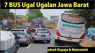Video 7 BUS Terkenal Ugal - Ugalan di Jawa Barat MP3, 3GP, MP4, WEBM, AVI, FLV Juni 2018