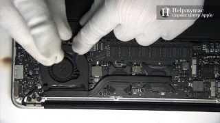 Профилактика MacBook Air A1369 2010 (с заменой термопасты и чисткой от пыли)