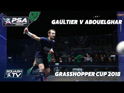 PSA Rewind: Gaultier v Abouelghar - 2018 Grasshopper Cup - Full Squash Match