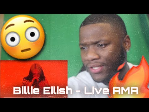 Billie Eilish - Therefore I Am (Live from the American Music Awards / 2020) REACTION