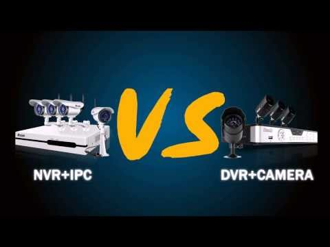 How to Choose the Right Security System: NVR vs DVR – Comparison of Home Security Systems