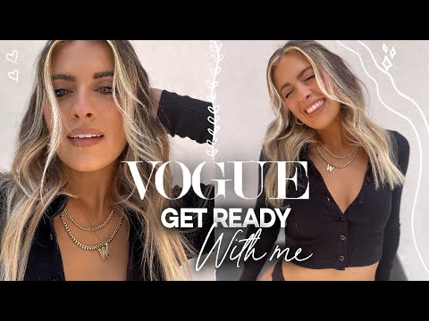Pretending I'm In A VOGUE Beauty Secrets Video | Whitney Simmons