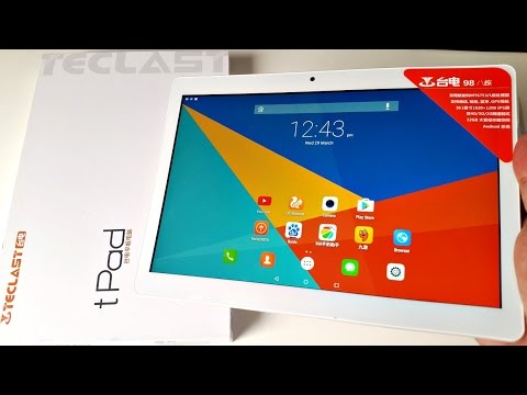 Teclast tPad 98 Review - Best Octo-core Tablet for under £100