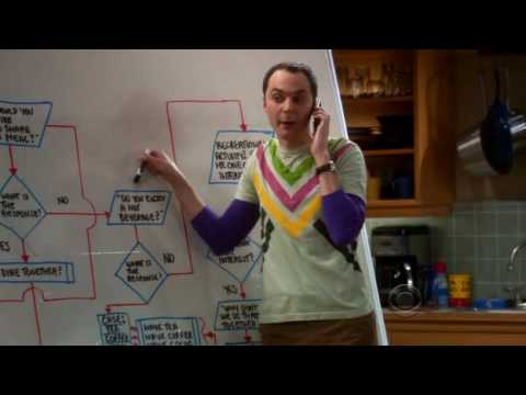 the big bang theory - l'algoritmo dell' amicizia 2x13