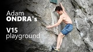 Overanalyzing Adam Ondra's playground and his latests 8C | V15 by OnBouldering