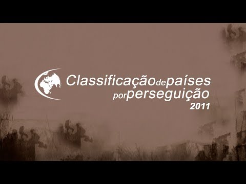 Classifica��o de pa�ses por persegui��o 2011