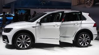 2016 Volkswagen Tiguan 2.0 TDi 4motion R-line - Exterior and Interior Walkaround Frankfurt Motor Show 2015 Like us on Facebook: https://www.facebook.com/grou...