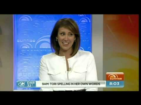 giggles - News Blooper: Natalie Barr gets the giggles during serious news story.