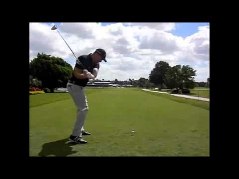 Glyn Meredith Golf Academy Dubai analyses the Swing of Peter Hanson using V1 Golf