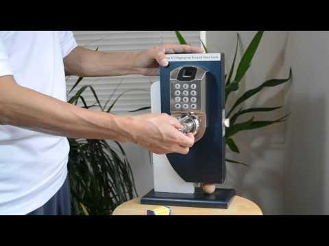 Biometric Fingerprint Keypad Door Lock Scyan X7